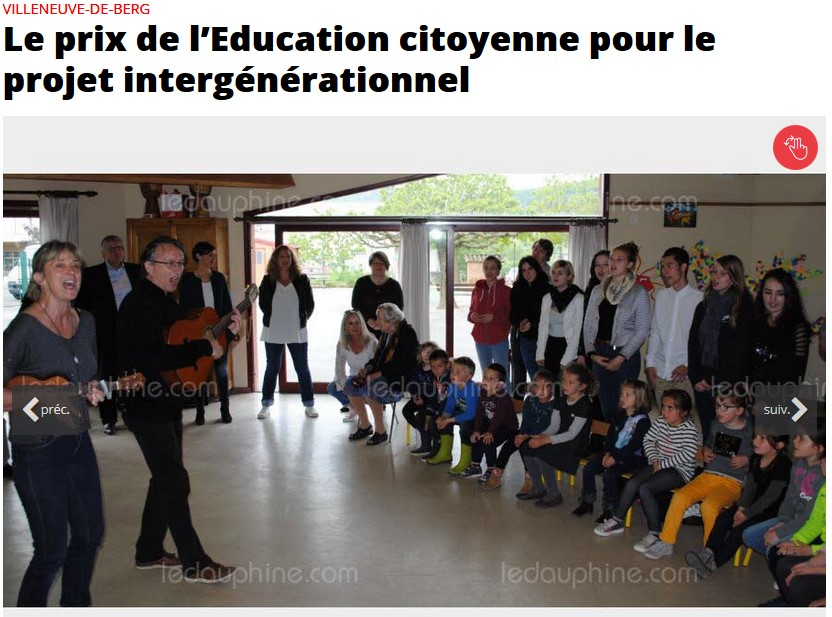 récompense intergéné